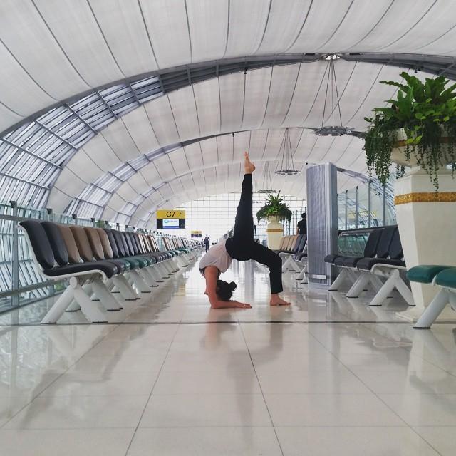backbend bangkok airport